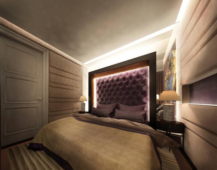 Bedroom by KOSHKA INTERIORS, Eclectic