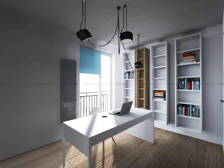 مكتب عمل أو دراسة تنفيذ Studio Malina