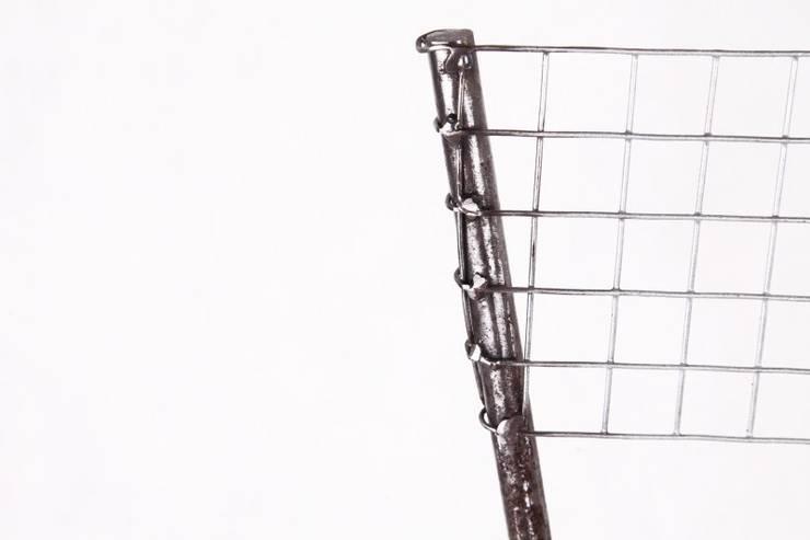 Krzesło  Stalowe Pręty : styl , w kategorii  zaprojektowany przez Rekoforma,Industrialny