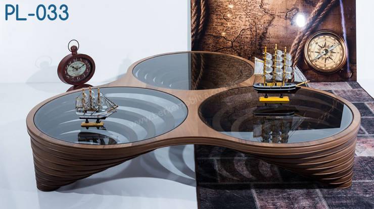 İBELYA GROUP DAN. DIŞ TİCARET – PL-033 Coffee Table: akdeniz tarzı tarz Oturma Odası
