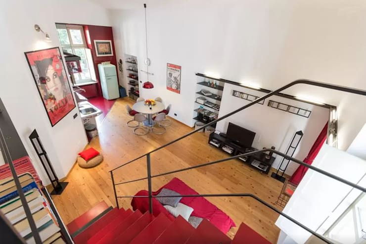 Loft Turin: Salones de estilo  de  Simona Garufi