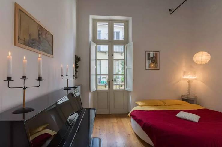 Simona Garufi: endüstriyel tarz tarz Yatak Odası