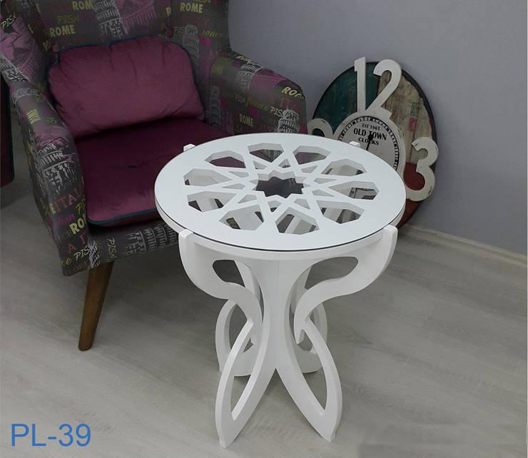 İBELYA GROUP DAN. DIŞ TİCARET – PL-039 Coffee Table:  tarz , Akdeniz