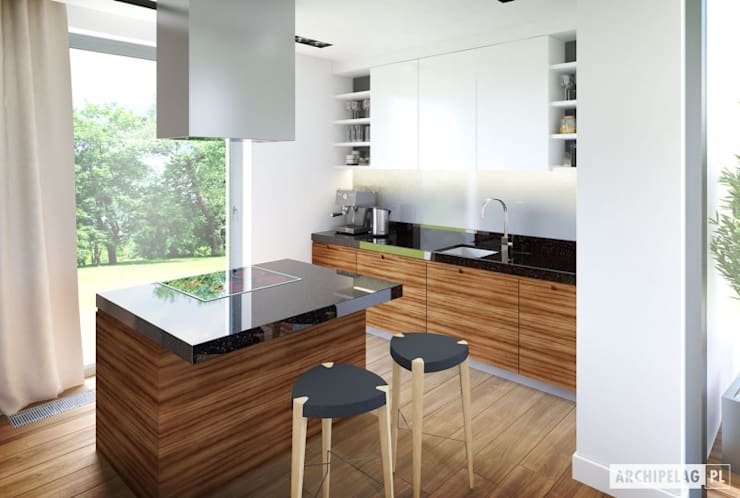 مطبخ تنفيذ Pracownia Projektowa ARCHIPELAG