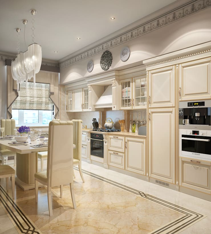 Кухня в частном доме: Кухни в . Автор – Sweet Home Design