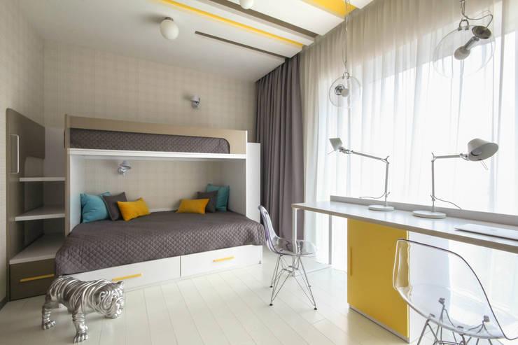 Dormitorios infantiles de estilo  de ДизайновТочкаРу