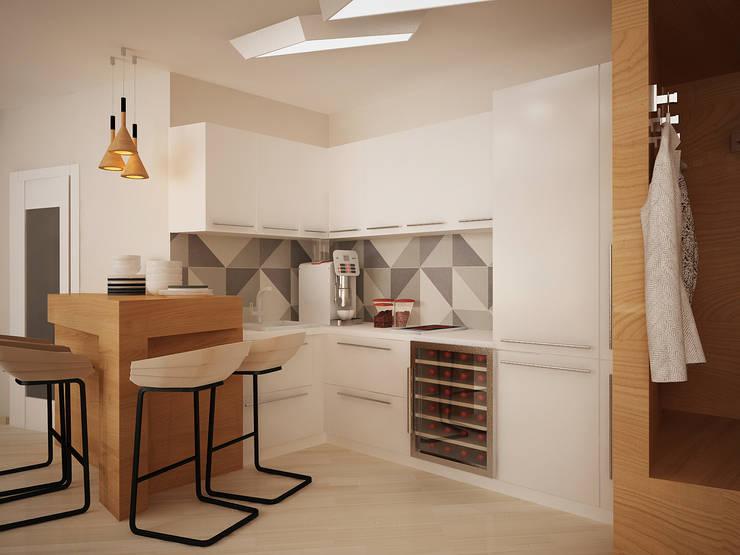 modern Kitchen by Vera Rybchenko