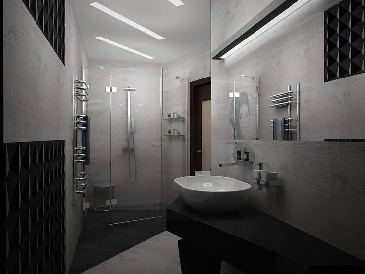 Деконструктивизм: Ванные комнаты в . Автор – Vera Rybchenko