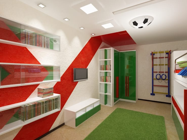 КВАРТИРА. ВОЛНА: Детские комнаты в . Автор – Vera Rybchenko