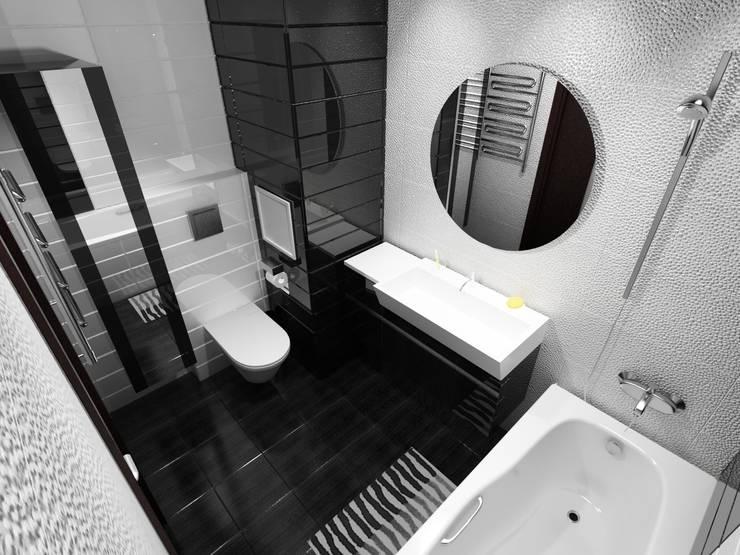 КВАРТИРА. ВОЛНА: Ванные комнаты в . Автор – Vera Rybchenko
