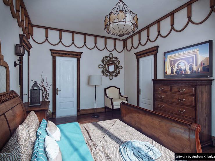 Bedroom: Спальни в . Автор – Андрей Кривуля
