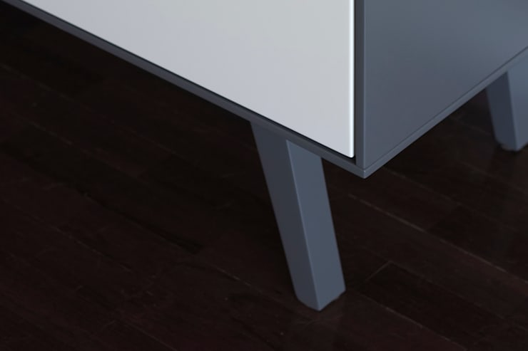 PH-1 da MO-OW: Salas de estar  por MO-OW design .  ângela frias e gonçalo dias arquitectos lda