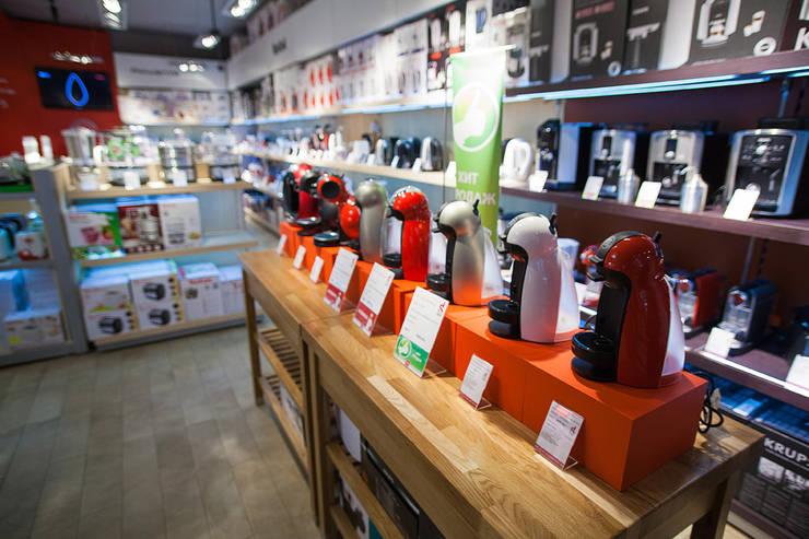 дизайн интерьера сети магазинов Home & Cook: Коммерческие помещения в . Автор – Александра Геродотова