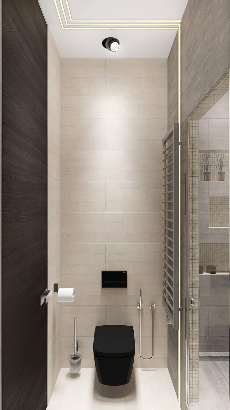 Festival 140м.кв: Ванные комнаты в . Автор – Александра Геродотова, Эклектичный