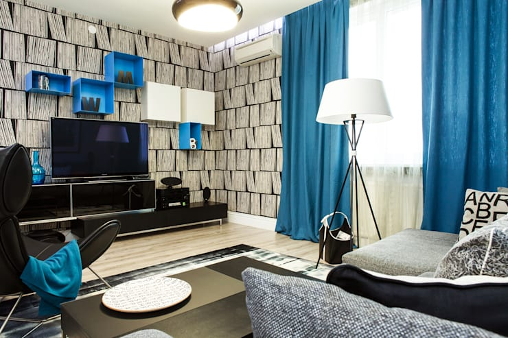Salas de estar  por Nika Loiko Design