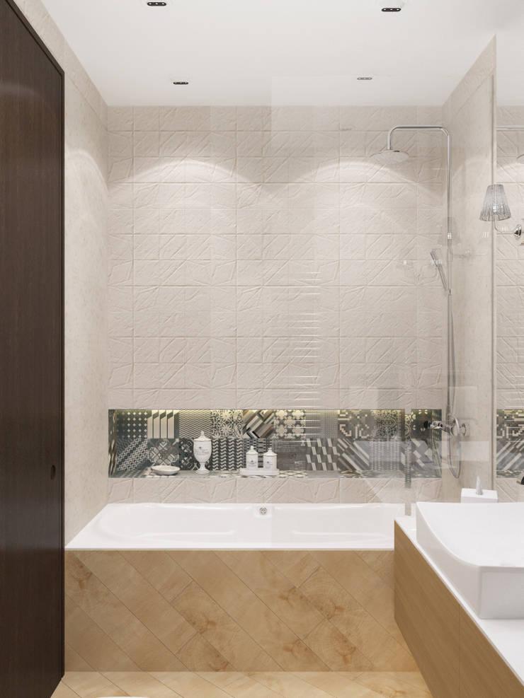 felicita 220 м.кв: Ванные комнаты в . Автор – Александра Геродотова