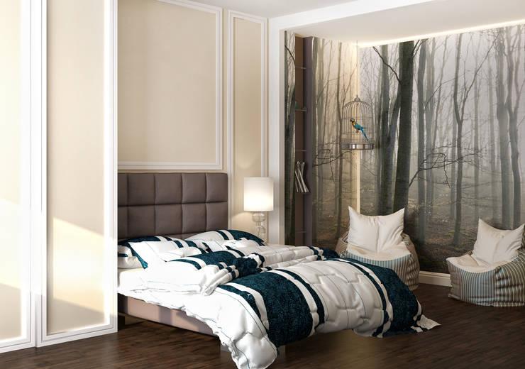 felicita 220 м.кв: Спальни в . Автор – Александра Геродотова