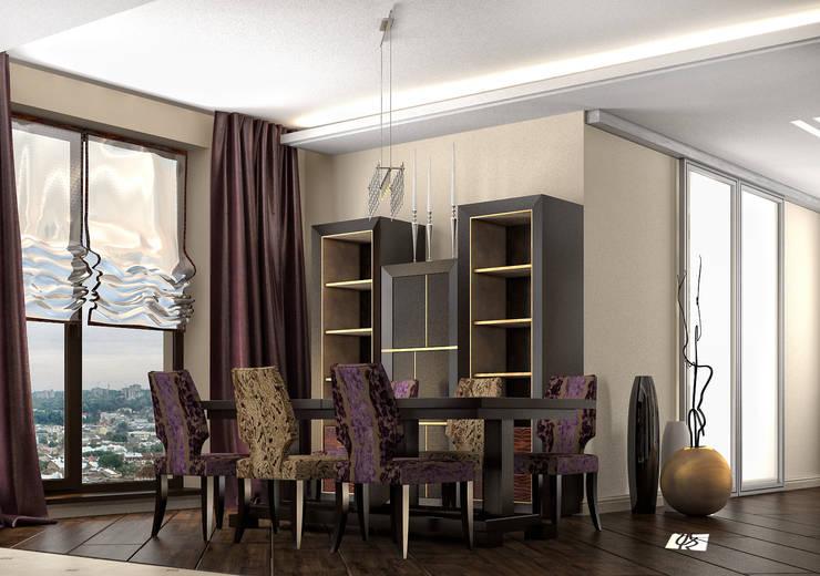 felicita 220 м.кв: Столовые комнаты в . Автор – Александра Геродотова