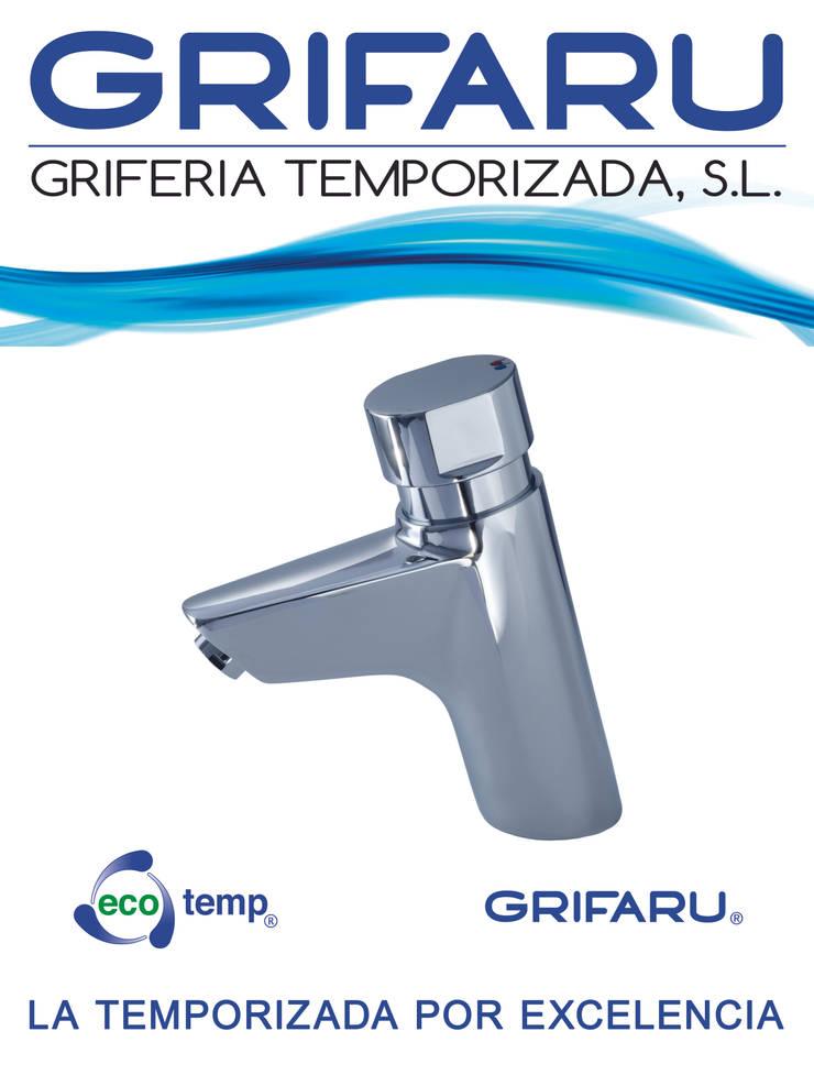 Centros comerciales de estilo  por GRIFARU Grifería Temporizada, S.L.