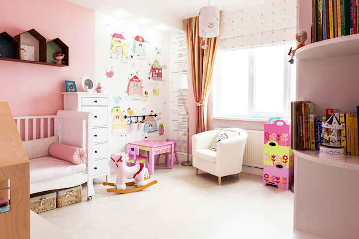 Quarto infantil  por Nika Loiko Design