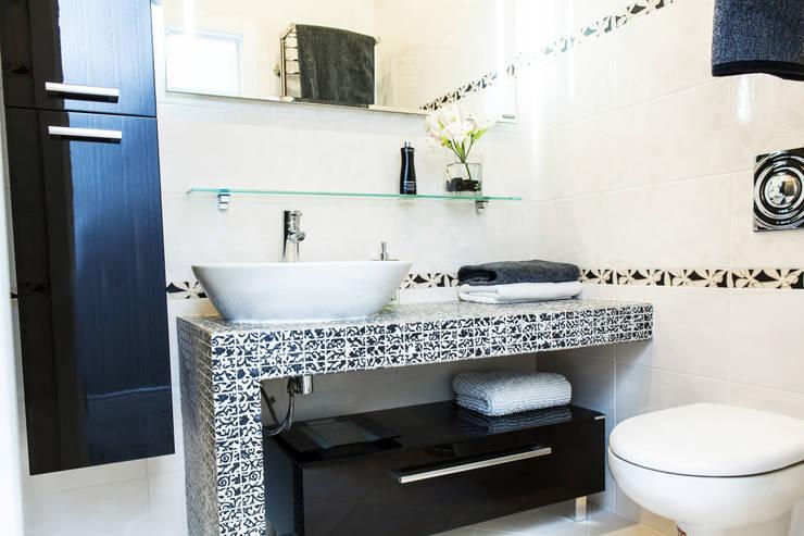 Badkamer door Nika Loiko Design