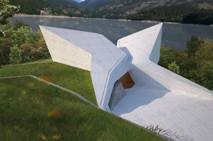 Casas de estilo moderno por Office of Feeling Architecture, Lda