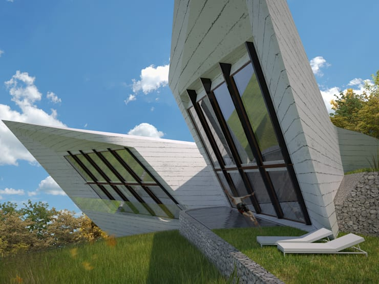 Expression of Sustenance: Casas  por Office of Feeling Architecture, Lda