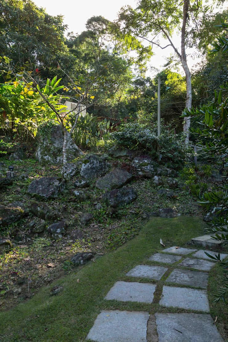 Jardines de estilo rústico de Lucia Manzano Rústico