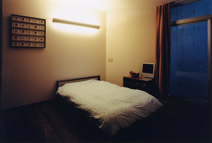 寝室: 一級建築士事務所 バサロ計画が手掛けた寝室です。