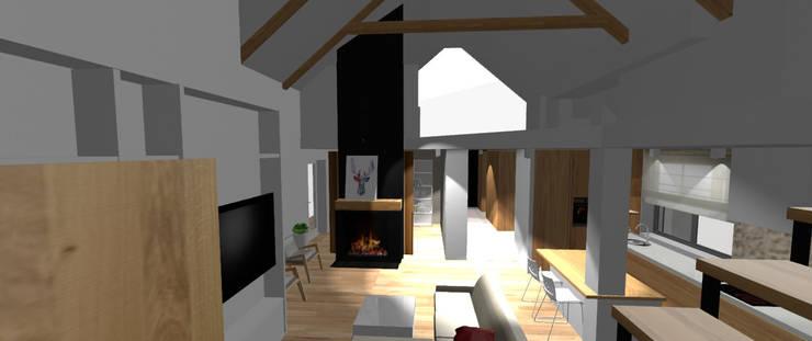 Dom jednorodzinny Zawiercie: styl , w kategorii  zaprojektowany przez StudioDecor