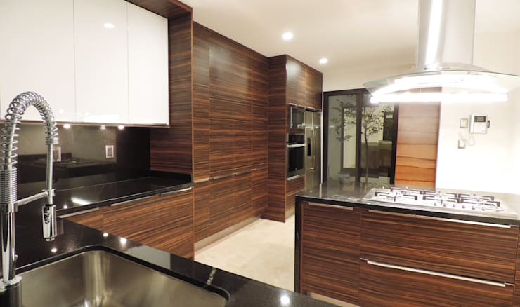 modern Kitchen by acosta arquitecto