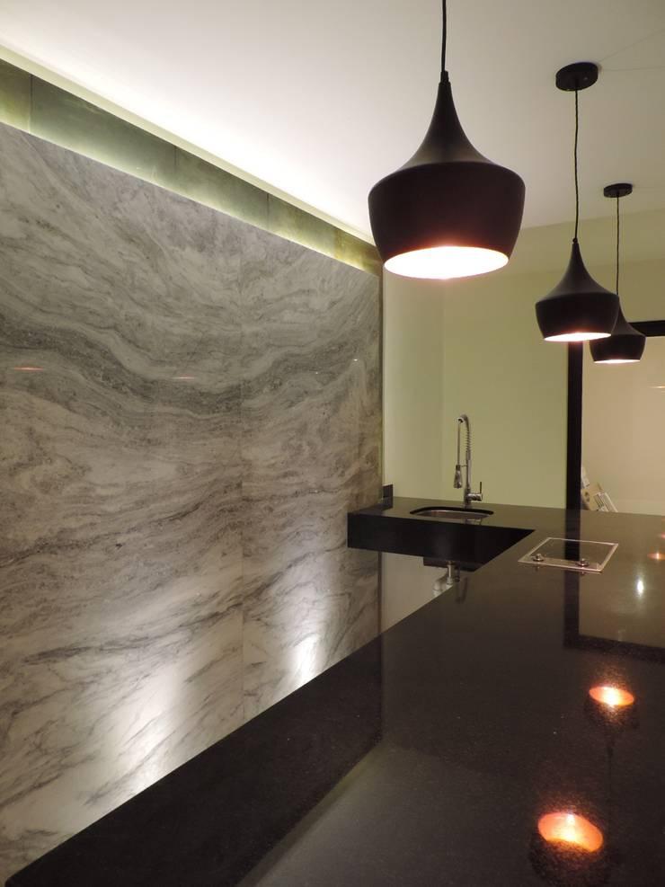 Casa SF: Terrazas de estilo  por acosta arquitecto