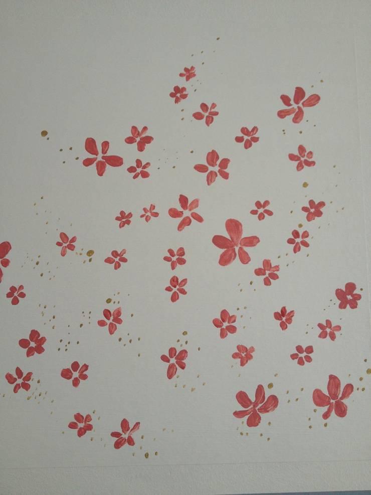 décor mural pour chambre de fille von Bleu d\'avril | homify