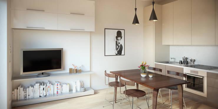 Interni appartamenti a mosca di ak srl homify for Interni di appartamenti