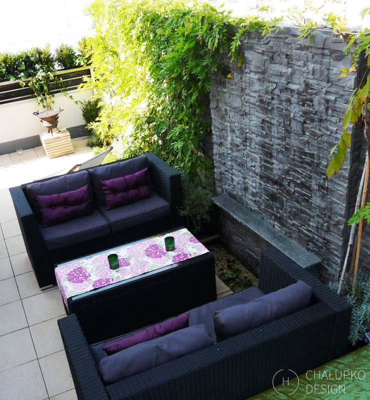 Terrasse von Chałupko Design