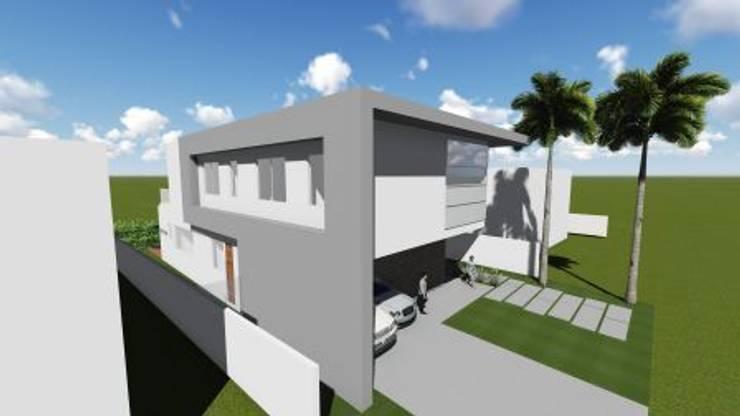 Residência V|T: Casas modernas por Coutinho+Vilela