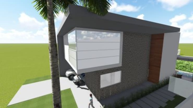 Residência V|T: Casas  por Coutinho+Vilela,