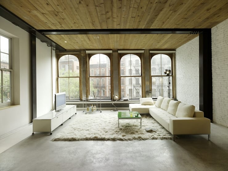 Living room by USM Möbelbausysteme