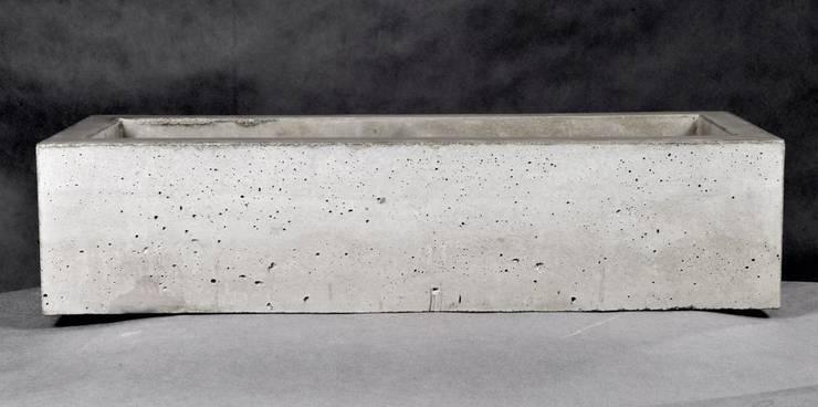 Umywalki betonowe: styl , w kategorii Łazienka zaprojektowany przez Stańczyk Konstrukcje