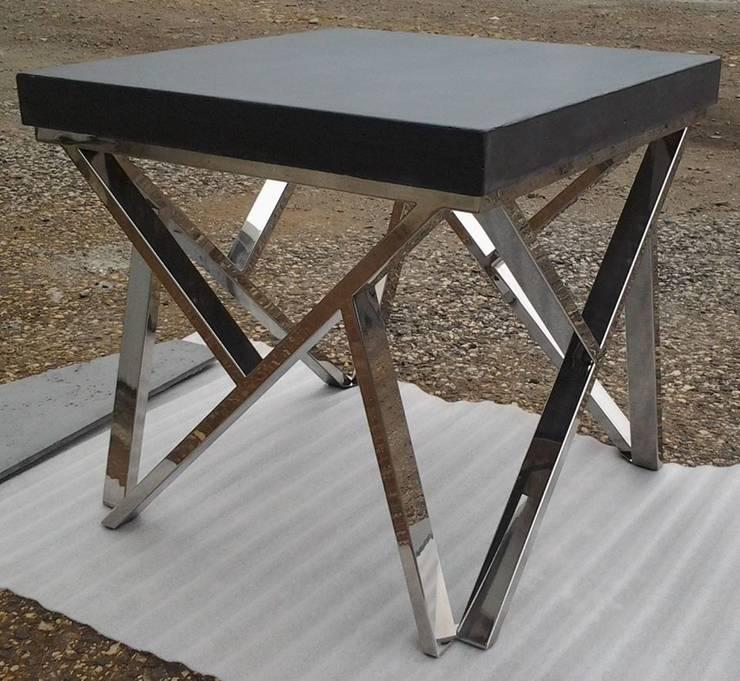 Ogrodowe stoły, krzesła, komplety: styl , w kategorii Ogród zaprojektowany przez Stańczyk Konstrukcje