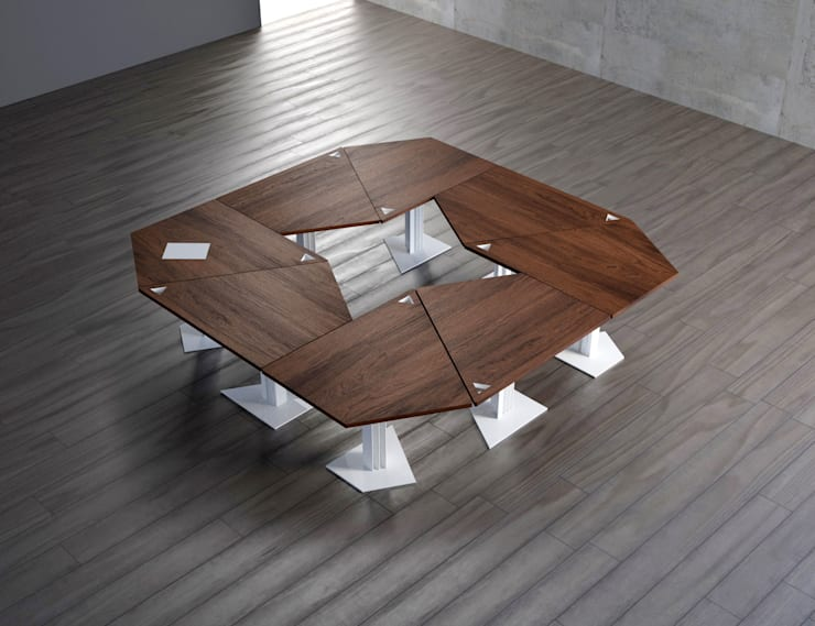 Dining room by KAMBIAM (NeuroDesign Furniture for People)