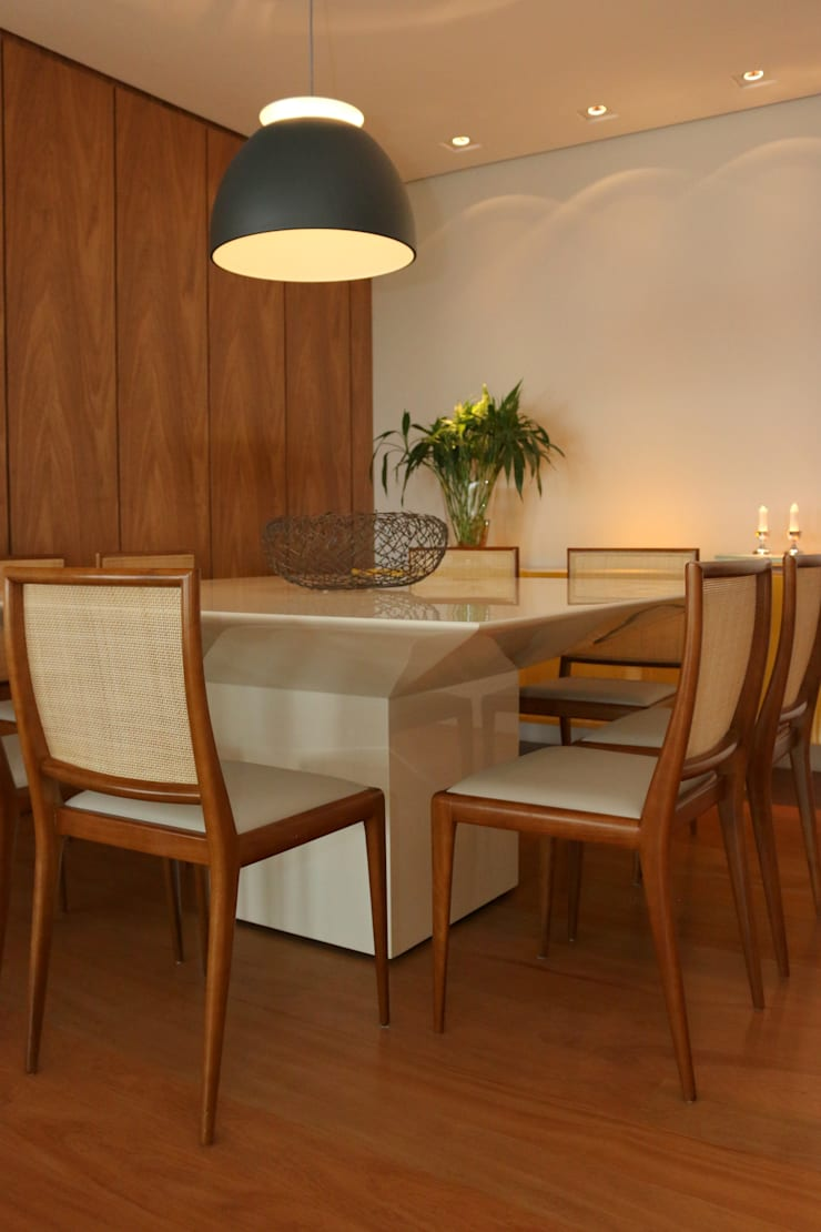 Sala de jantar: Salas de jantar  por ARK2 ARQUITETURA,