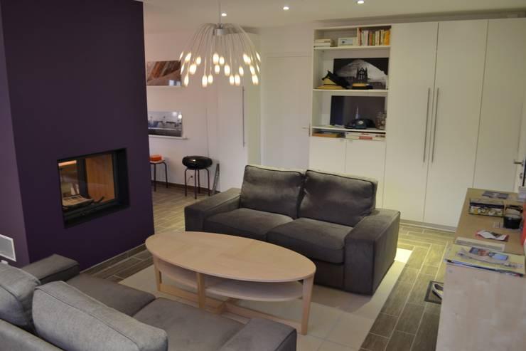 Phòng khách by In Déco