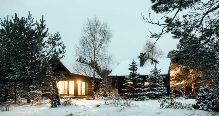 Дома в . Автор – Magdalena Zawada