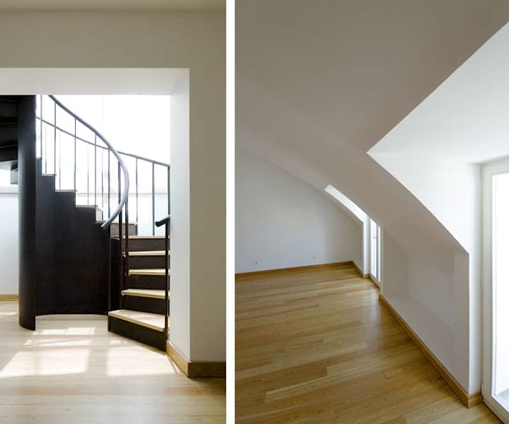 stair & bedroom 15:   por ARTE e TECTóNiCA, arquitectura e desenho Lda