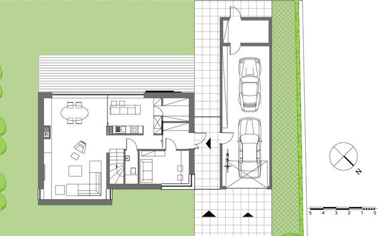 Casas de estilo  por Prodom Architektura i Konstrukcja