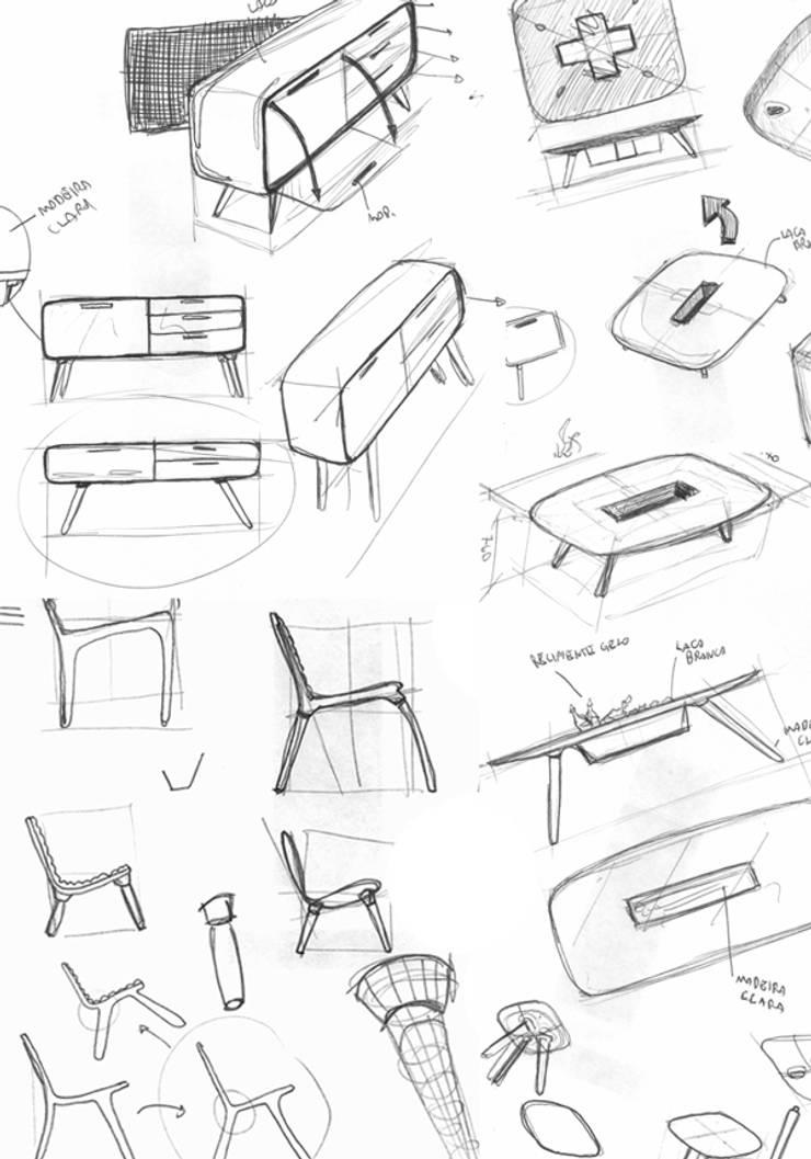 Sketches Nova:   por Hugo Sigaud
