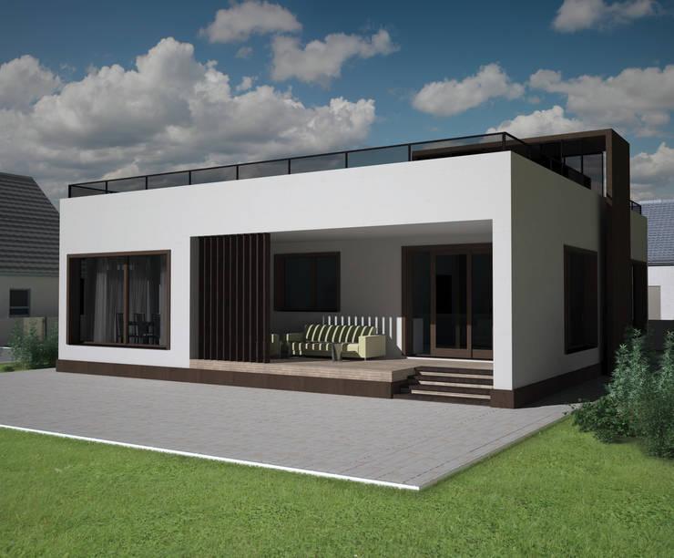 Casas de estilo  por LGorshkaleva, Minimalista