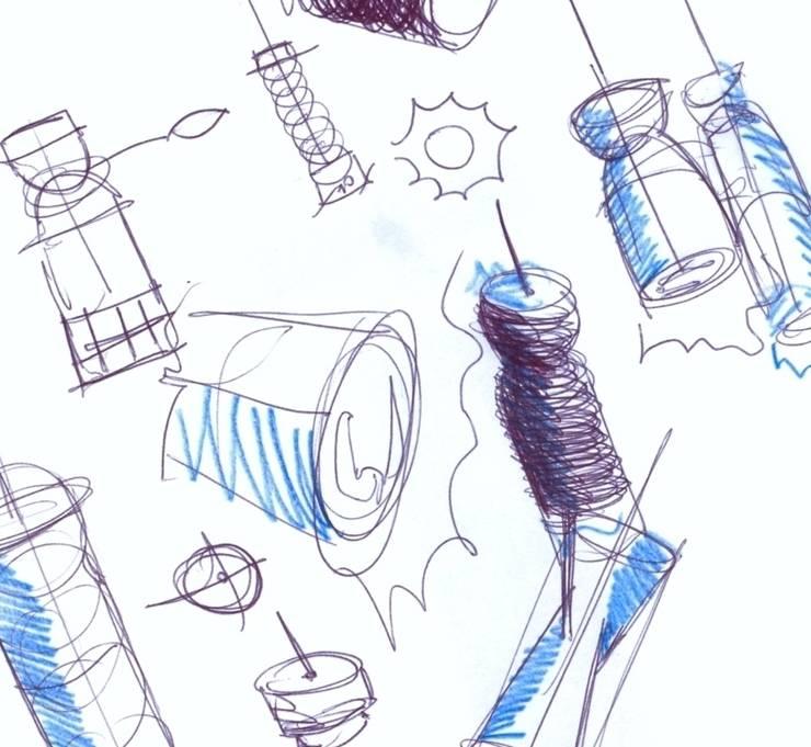 Lum Sketches: Sala de jantar  por Hugo Sigaud
