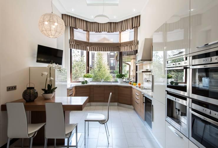 Кухня:  в . Автор – Студия дизайна Марины Терешиной 'Mart.studio'